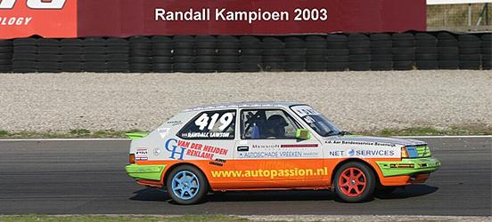 Randall Lawson kampioen 2003